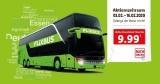 LIDL FlixBus Ticket – Quer durch Deutschland Ticket für 9,99€