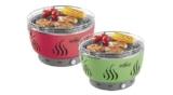 Florabest Holzkohlegrill mit Aktivbelüftung FLG34C1 (wie Lotus-Grill) für 44,94€