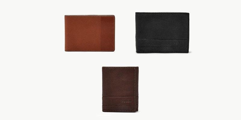 Fossil Geldbörsen Sale: Herren Geldbeutel (aus Leder) ab 17€