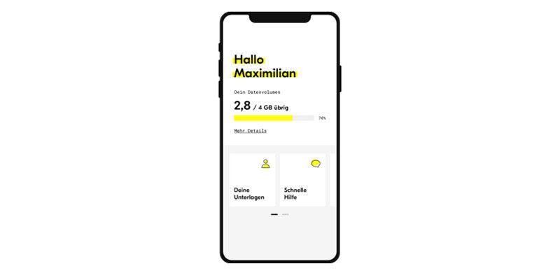 fraenk Gutschein: Gratis Handytarif für 1x Monat (4 GB Datenvolumen, Telefon Flat)