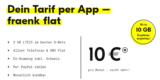 fraenk Handytarif: 5 GB LTE (+ 1 GB mit Gutschein) im Telekom Netz & Allnet-Flat für 10€/Monat [monatlich kündbar]