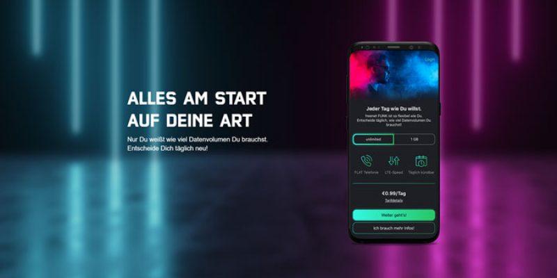 Freenet Funk Handytarif – Unlimitierte Allnet-Flatrate für 0,99€ pro Tag