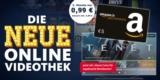 Freenet Video 3 Monate für einmalig 0,99€ testen + 5€ Amazon Gutschein