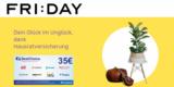 FRIDAY Hausratversicherung ab 1,79€/Monat + 35€ BestChoice- / Amazon Gutschein