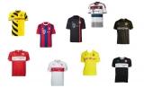 Fußballtrikots (letzte Saison) von Bayern, Dortmund, Stuttgart, etc. für nur 29,95€