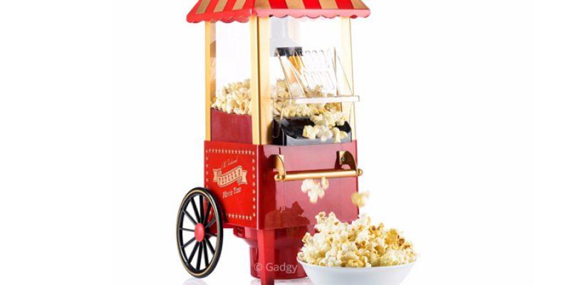 Gadgy Retro Popcorn Maschine für 32,75€