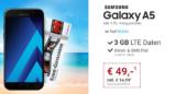 Samsung Galaxy A5 (2017) + Blau Allnet L Tarif + 50€ Kinogutschein für 14,99€/Monat