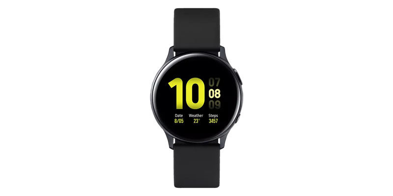 Samsung Galaxy Watch Active 2 Aluminium 40mm mit Sport-Armband für 155€