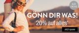 Galeria Kaufhof Gönn Dir Was Aktion: 20% Rabatt auf fast alles