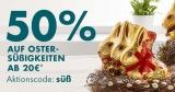 50% Gutschein auf Oster-Süßigkeiten bei Galeria Karstadt Kaufhof