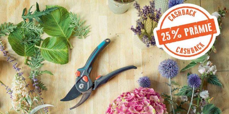 Gardena Cashback Aktion: 25% Cashback auf Garten- und Astscheren