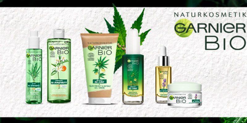 Gratis Garnier Naturkosmetik Produkte testen durch Garnier Bio Cashback Aktion