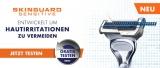 Gillette Skinguard Sensitive Rasierer kostenlos testen (Cashback Aktion)