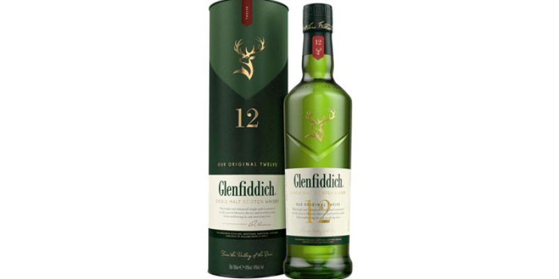 Glenfiddich Single Malt Scotch Whisky 12 Jahre für 22,99€ (0,7 Liter)