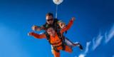 Tandem-Fallschirmsprung für 148,20€ mit GoJump Gutschein bei Groupon