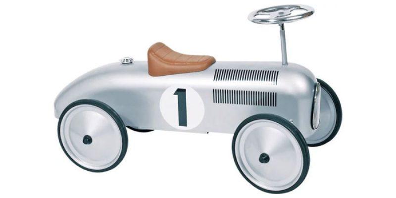 Goki Oldtimer Rutscherfahrzeug für Kinder für 55,75€