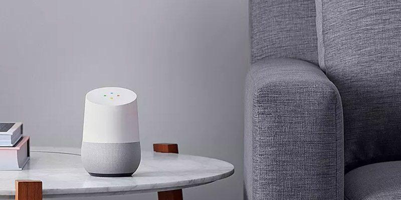 2x Google Home Lautsprecher mit Sprachassistent für 89€