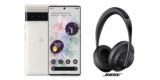Google Pixel Vorbesteller Aktion: Pixel 6 oder Pixel 6 Pro für 649€ + gratis Bose Noise Cancelling Headphones 700