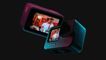 GoPro Hero 9 Black + 2x Akkus + Handgriff + Magnetclip + SD-Karte + GoPro Jahresabo für 379,98€