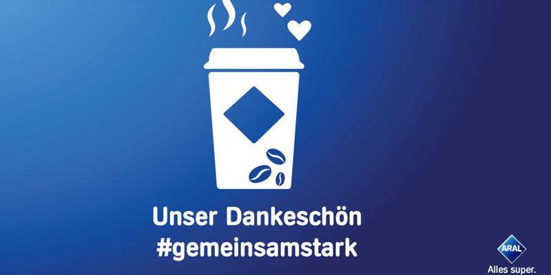 Gratis Kaffee bei Aral für Helfer*innen (Polizei, Einzelhandel, Pflege, etc.)
