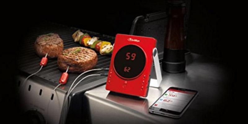 GrillEye Bluetooth Grillthermometer inkl. 2 Fühler für 56,90€