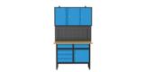 Güde Werkbank GW 5/1 – Set 1 mit 4x Schubladen & abschließbare Schränken für 358,95€