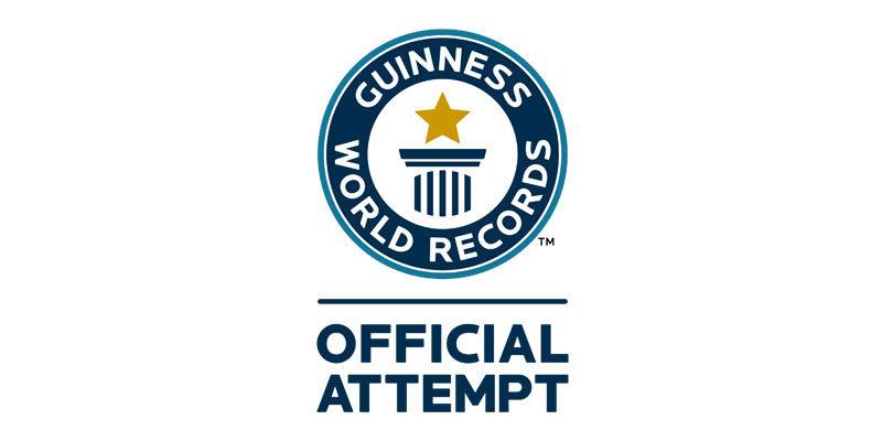 Offizielle Guinness World Records Urkunde für 10km Lauf geschenkt