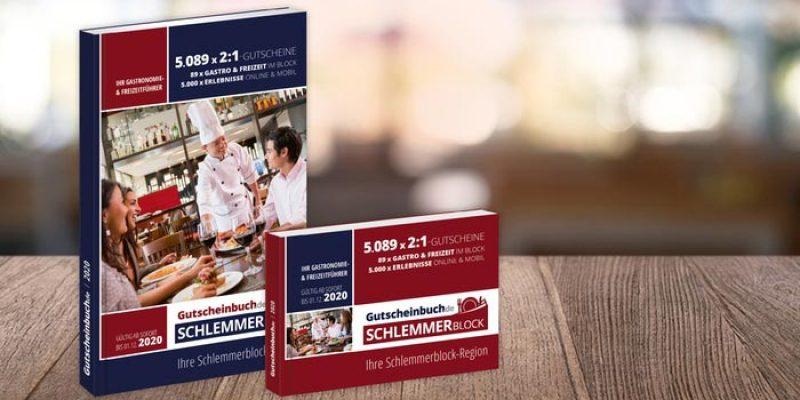 Gutscheinbuch Schlemmerblock 2021 für 16,90€ – Restaurant Gutscheine (auch für Selbstabholung & Lieferung)