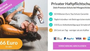 6€ Helden.de Gutschein (Helden Code): Private Haftpflichtversicherung inkl. Drohnen für 66€/Jahr