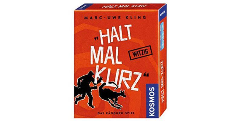 Kartenspiel Halt mal kurz für 3,99€ (Känguru Chroniken von Marc-Uwe Kling)