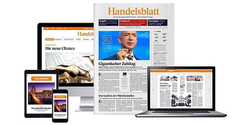 6 Wochen Handelsblatt Premium Abo (digital) für 1€ – Kündigung nötig