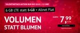 Handyvertrag.de Tarif-Deal: 6 GB LTE & Allnet-Flatrate für 7,99€ pro Monat