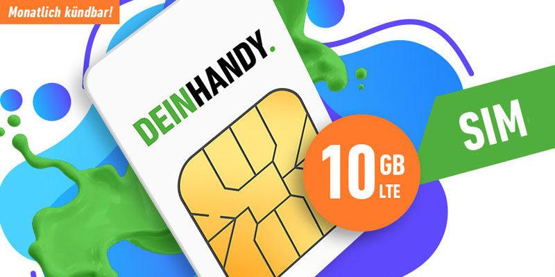 Handyvertrag.de Weihnachtsangebot: 10 GB LTE Tarif & Allnet-Flat für 9,99€ pro Monat – monatlich kündbar