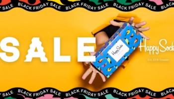 Happy Socks Black Friday Sale: bis zu 40% Rabatt + kostenloser Versand