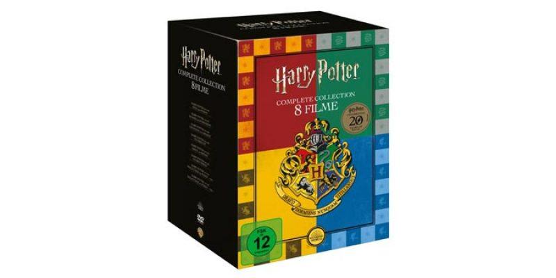 Harry Potter Collection DVD Box (Buchhandels-Edition) für 17,99€ –  Alle 8 Filme