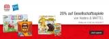 20% Rabatt auf Gesellschaftsspiele von Hasbro & Matell bei Galeria Kaufhof