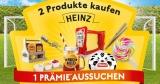 Heinz BBQ Helden Aktion: 2x Heinz Produkte kaufen & Prämie kassieren (z.B. aufblasbares Tor)
