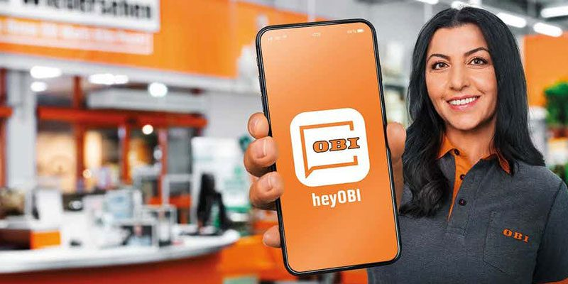 10% Obi App Gutschein über die heyOBI App – gilt nur im Obi Markt