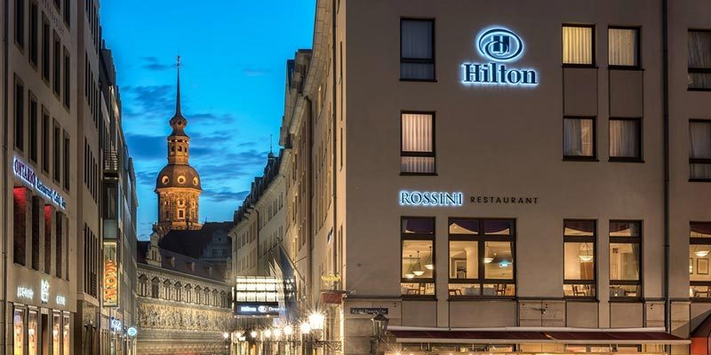 1x Übernachtung inkl. Frühstück im Hilton Hotel Dresden für 99€ (2 Personen)