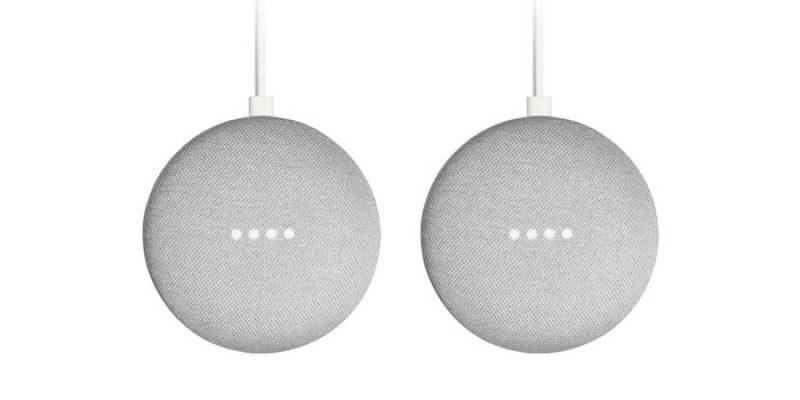 2x Google Home Mini Lautsprecher für 39€