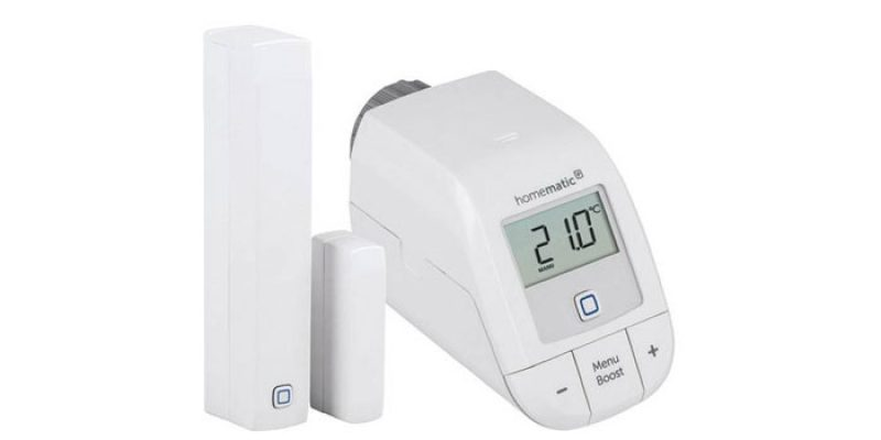 Homematic IP Starter Set (Heizkörper-Thermostat + Fensterkontakt) für 34,99€