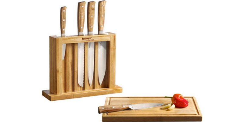 Homeware Messerblock aus Bambus (5 Messer) für 23,94€ bei XXXLutz