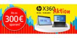 HP x360 Aktion: Rabatt auf Notebooks & Convertibles bei Notebooksbilliger