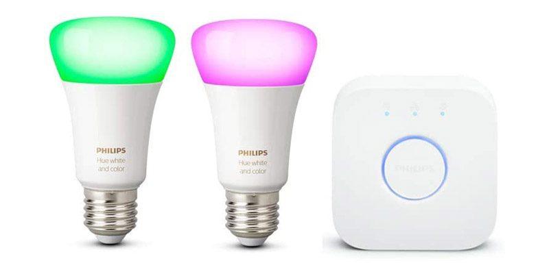 Philips Hue E27 White & Color Ambiance Starter Set (5. Generation) für nur 89,99€