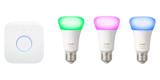 Philips Hue E27 White & Color Ambiance Starter Set (5. Generation) mit 3 Lampen für nur 106,84€