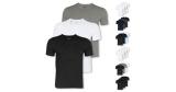3x Hugo Boss T-Shirts (V-Neck oder Rundhals) aus Baumwolle für 27,96€