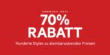 H&M Sale: bis zu 70% Rabatt + 10% Gutschein auf den Sale für Member