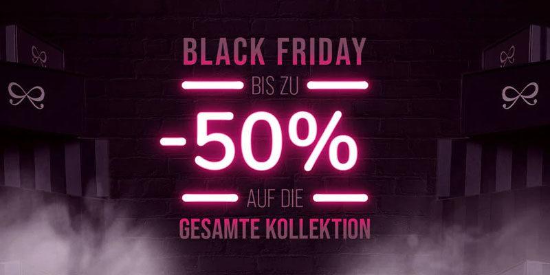 Hunkemöller Black Week 2020: bis zu 50% Rabatt auf die gesamte Kollektion