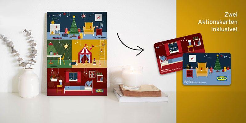 IKEA Adventskalender 2020 mit mind. 10€ Aktionskarten für 12,71€