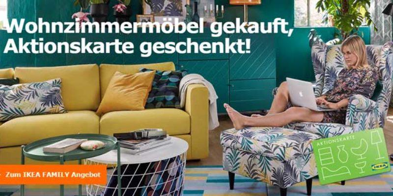 IKEA Wohnzimmermöbel kaufen: 25€ Aktionskarte pro 250€ Einkaufswert